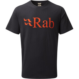 Rab Stance Logo - T-shirt manches courtes Homme - gris